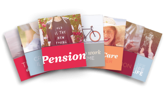 Give employees peace of mind for their later years PENSIONS