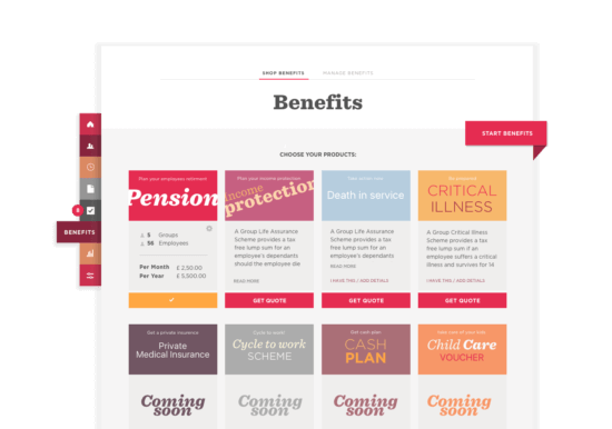 Benefits & auto-enrolment? Sorted. BENEFITS/THAT/FIT